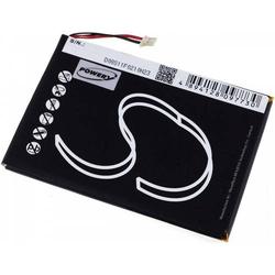 Powery Akku für Tablet Prestigio Typ 3871A2, 3,7V, Li-Polymer