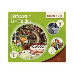 Edel Hörspiel CD Pettersson und Findus - Starter-Box (3 CDs)