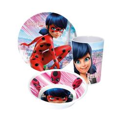 p:os Kindergeschirr-Set Kindergeschirr Melamin Disney Die Eiskönigin, rot