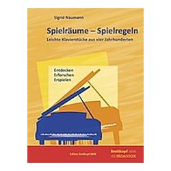 Spielräume - Spielregeln. Sigrid Naumann  - Buch