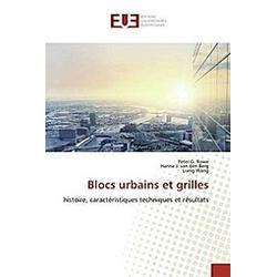 Blocs urbains et grilles. Peter G. Rowe  Liang Wang  Hanne J. van den Berg  - Buch