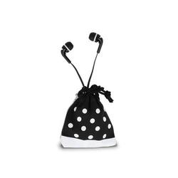 InEar Kopfhörer mit Mirkofon, Headset, Flachkabel, iPhone, Samsung, Handy, Sport, Joggen