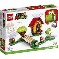 LEGO® Puzzle LEGO® Super Mario 71367 Marios Haus und Yoshi, Puzzleteile