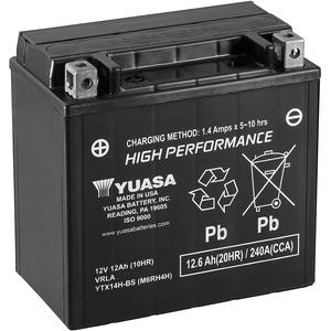 Yuasa YTX14H-BS(WC) Leistungsstarke wartungsfreie Batterie