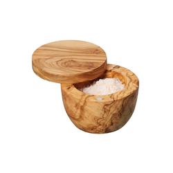 ZASSENHAUS Salzstreuer Salztopf aus Olivenholz, (1-tlg)