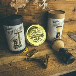Golden Beards Golden Shaving Kit