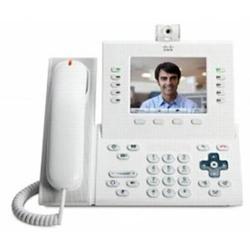 Cisco CP-9951-WL-K9= IP-Videotelefon Farbdisplay Arktik Weiß