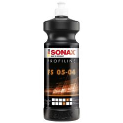 SONAX PROFILINE FS 05-04 Politur silikonfrei, Politur für professionelle Anwender in Lackierereien, 1000 ml - Flasche