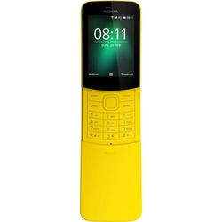 Nokia 8110 Handy (6 cm/2,4 Zoll, 4 GB Speicherplatz, 2 MP Kamera) gelb