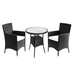 Casaria Balkonset, Stapelbare Stühle