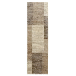 Teppich in Pastellfarben natur ca. 60/110 cm