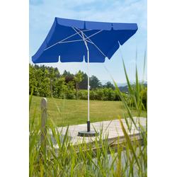 Schneider Schirme Sonnenschirm Ibiza, ohne Schirmständer blau Sonnenschirme -segel Gartenmöbel Gartendeko