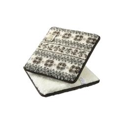 Licardo Sitzkissen Sitzkissen Stuhlkissen 2er Pack Wolle 37 x 40 cm