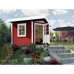 weka Gartenhaus Designhaus 213 Gr.1, BxT: 278x278 cm
