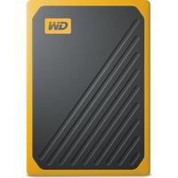 Western Digital My Passport Go 2 TB USB 3.0 schwarz/gelb