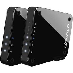 Devolo 9855 GigaGate Starter Kit 2er-Pack WLAN Access-Point 2.000MBit/s 2.4GHz, 5GHz