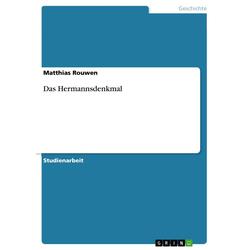 Das Hermannsdenkmal als Buch von Matthias Rouwen