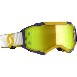 Scott Fury S20, Crossbrille verspiegelt - Gelb/Blau Gelb-Verspiegelt