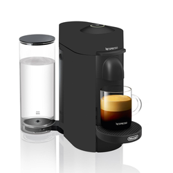 Nespresso VertuoPlus Coffee and Espresso Machine by De'Longhi – Black Matte