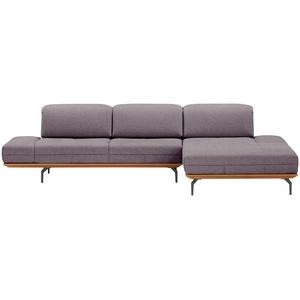 hülsta Sofa Ecksofa  HS 420 ¦ lila/violett