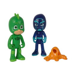 SIMBA Actionfigur PJ Masks Figuren Set Gecko+Ninja