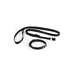 GoLeyGo Hundeleine und Halsband S schwarz