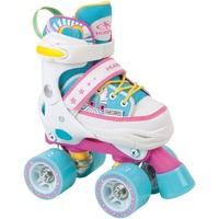 Hudora Skate Wonders blau/pink/weiß, 28-31