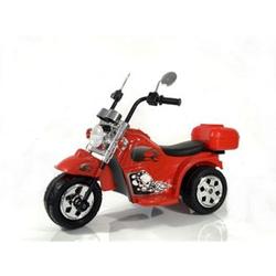 Kinder Elektro Polizei Motorrad Fahrzeug Kindermotorrad Akku Harley Motorrad Elektromotorrad... Rot