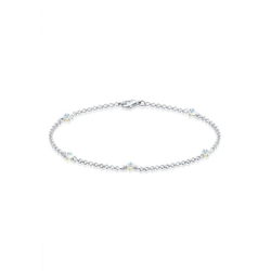 Elli Armband Kristalle 925 Sterling Silber, Kristall Armband 19