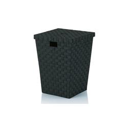 Kela Wäschekorb Alvaro in schwarz