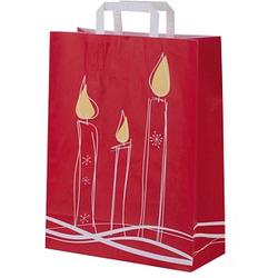250 VP Geschenktaschen Kerze Motiv