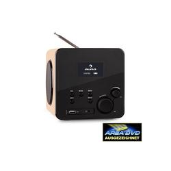 Auna Radio Gaga Internetradio WLAN/LAN DAB/DAB+ UKW USB AUX ahorn Digitalradio (DAB) (Internetradio WLAN/LAN DAB/DAB+ UKW)