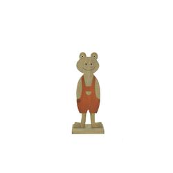 HTI-Line Tierfigur Dekofigur Frühling Frosch 25 cm