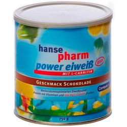 HANSEPHARM Power Eiweiß plus Schoko Pulver 750 g