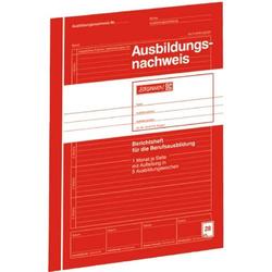 Ausbildungsnachweis A4 1 Monat/Seite