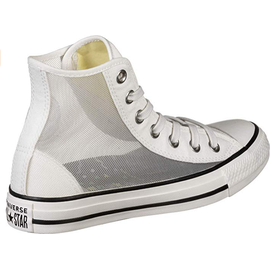 Converse Chuck Taylor All Star Hi white transparent white