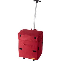Einkaufstrolley Smart Cart, 25 l, klappbar rot