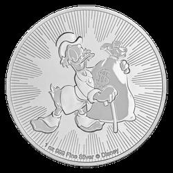 1 Unze Silber Dagobert Duck 2018