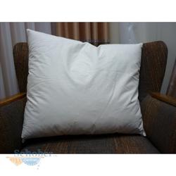 Federkissen Füllkissen Sofakissen Kissenfüllung mit Inlett und Federn, creme 40 x 60 cm