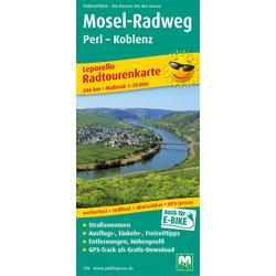 Mosel-Radweg Perl - Koblenz 1 : 50 000