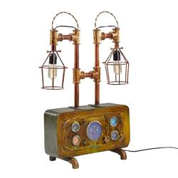 Tischlampe aus Eisen Vintage Design