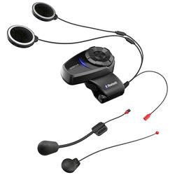 Sena 10S Bluetooth Hoofdtelefoon Double Pack, zwart, Eén maat