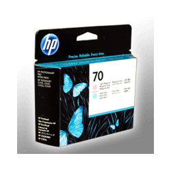 HP Druckkopf C9405A  70  2-farbig  foto cyan+foto magenta