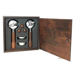 Bezzera Holz Siebträger-Set E-61 Serie