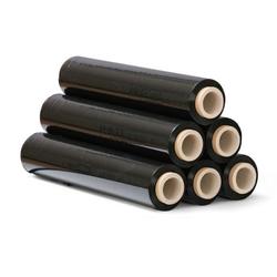 Schrumpffolie schwarz 20 mic, 500 mm x 300 m, 6 stk.