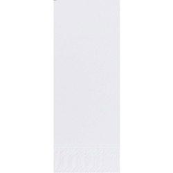DUNI Servietten, 36 x 36 cm, 2-lagig, 1/8 Falz, 1 Karton = 4 x 300 Stück = 1.200 Stück, weiß