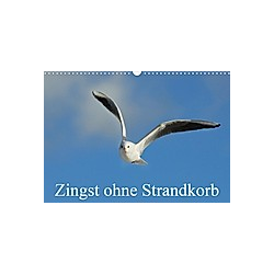Zingst ohne Strandkorb (Wandkalender 2021 DIN A3 quer)