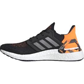 adidas Ultraboost 20 M core black/grey three/signal orange 43 1/3