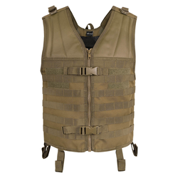 Mil-Tec Molle Carrier Weste coyote