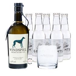 Windspiel Gin & Gents Swiss Roots Tonic Set
